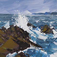 Spring Tide, 90x90cm