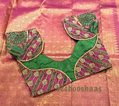 Patch Work Blouse Designs, Simple Blouse Designs, Saree Blouse Neck Designs, Stylish Blouse Design, Bridal Blouse Designs, Designer Blouse Patterns, Blouse Models, Indian Blouse, Indian Wear