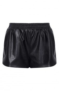 Topshop - Faux Leather Running Shorts (worn by Emily Fields on Pretty Little Liars)