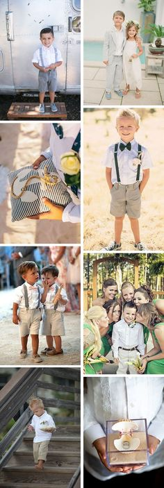 beach wedding ring bearer * I think the boy coming down the steps is perfect!