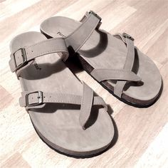 NWT Pierre Dumas Taupe Sandals A sandals must have! Double strap for a great fit and easy slip-on will make these your go-to pair. Pierre Dumas Shoes Sandals
