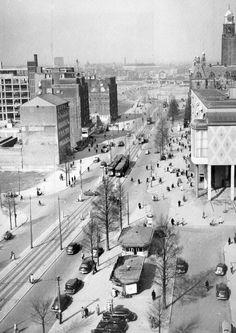 Rotterdam in opbouw Coolsingel 1949