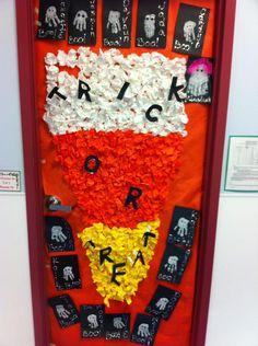 Trick or Treat! - Halloween Door Display