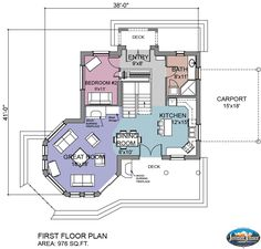 Small round house floor plans