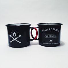 Enamel Camp Mug Set