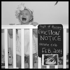 2nd baby announcement. This is too funny lol