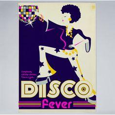 Americanflat - Disco Fever - Print