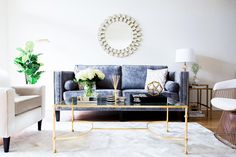 Chic and Glam Living Room - The Girl from Panama
