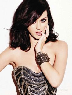 Katy Perry Biography | Katy Perry Wallpapers  Katy Perry puts a new twist in the gothic fashion!