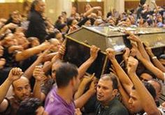Egyptian Christian Dies After Muslims Douse Him with Gasoline, Set Him on Fire Saber Helal Saber's family says he was just passing by, but he was a Christian during a violent Muslim pogrom against Christians. And so he was doused with gasoline, set on fire and burned to death.