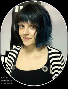 Katia Miyazaki Coiffeur - Salão de Beleza em Floripa: turquesa - blue hair - azul claro - blue mermaid h...