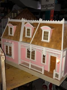 TALL  EMPTY  PICTURE  FRAME ~ Jim Coates ~ Dollhouse Mini~ 1:12 scale ~ Room Box