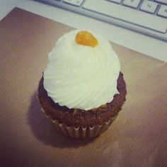 Carrot Cake Cupcake With Cream Cheese Frosting @ Cup & Cake