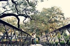 #Savannah #engagement Factor's Walk. #trees #spanishmoss