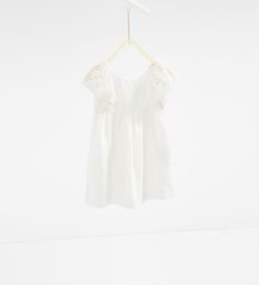 Linen dress with lace trim-View All-DRESSES AND JUMPSUITS-GIRL   4-14 years-KIDS   ZARA United States