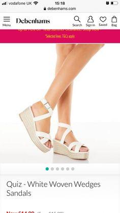 Espadrilles, Sandals, Wedding Dresses, Shoes, Fashion, Espadrilles Outfit, Bride Dresses, Moda, Shoes Sandals