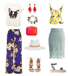 """be bright ,be fabulous"" by karnosha-1 on Polyvore featuring мода, rag & bone, Chanel, Chicwish, Aquazzura, Love Moschino, Oscar de la Renta и Dolce&Gabbana"