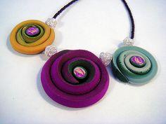 Polymer Clay Necklace | Flickr: Intercambio de fotos
