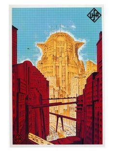 Metropolis Poster, Metropolis 1927, Framed Artwork, Wall Art Prints, Modern Man Cave, Fritz Lang, Frames For Canvas Paintings, Movie Poster Art, Affordable Wall Art