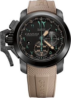 Graham Watch Chronofighter Oversize Golden Dune Limited Edition #basel-15…