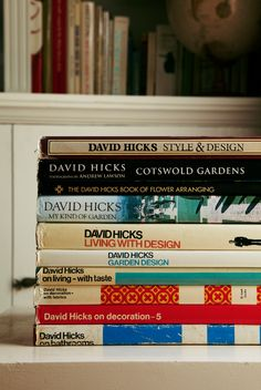 books by my father. the book on bathrooms was dedicated to me. I Love Books, Good Books, Books To Read, Harbour Island Bahamas, David Hicks, Modern Tropical, Inspiring Things, Janis Joplin, Reading Challenge