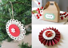 Here is an ornament collection you will want for this years christmas. Tis the season to make crafts.