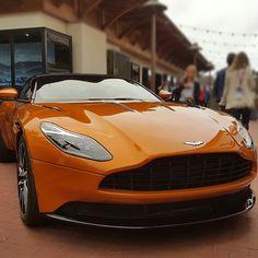 #ChasingBondCars: Aston Martin DB11 on Ocean. @pebblebeachconcours for #SpyMasqueradeBall.