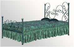 Metalowe łóżka do sypialni, kute.  Mozliwość wykonania we wszystkich kolorach.  http://mirat.eu/lozka-do-sypialni-140x200,c418.html