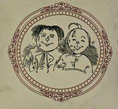 Max und Moritz Stickdatei auf www.gabrielles-embroidery.com