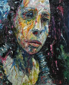 UNTITLED q534   -by David Padworny   #Original #Painting (Oil painting) #Art #Drawing