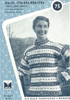 Ravelry: Tryslingjakke pattern by Dale Garn Norwegian Knitting, Romper Pattern, Fair Isle Knitting, Hobbies And Crafts, Color Patterns, Norway, Free Pattern, Knitting Patterns, Knit Crochet