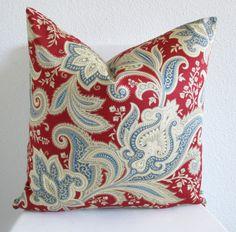 Decorative pillow Throw pillow Accent pillow by vintagechicdecor