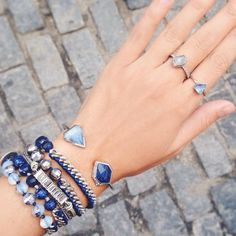 Celebrating the arrival of our new #Fall jewels with a proper #armsoirée! #chloeandisabel #wristwednesday #ANordicTale