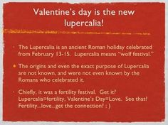 Feast of Lupercalia Roman Holiday, Ancient Romans, Fertility, Happy Valentines Day