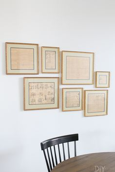 Easy Tricks To Hang A Gallery Wall In Your Home
