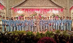 Baby Blue Minang Wedding at Sampoerna Strategic Square -