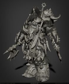 Work done for Siggraph 2013 Zbrush Demo =)