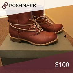 Women boots Lace around the ankle Timberlands.                                              ❗️OFFERS WELCOME ❗️ Timberland Shoes Ankle Boots & Booties