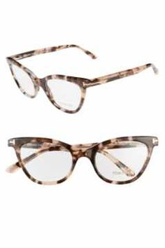 8005e108df2f Alternate Image 1 Selected - Tom Ford 49mm Cat Eye Optical Glasses (Online  Only)