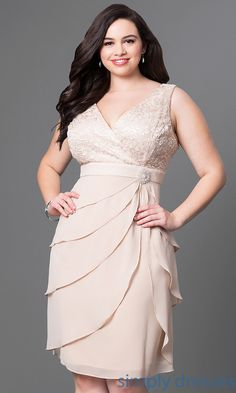 Shop plus-size long prom dresses at Simply Dresses. Formal evening ...
