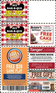 Get discounts on shows, attractions and more in Pigeon Forge and Gatlinburg, TN. Gatlinburg Coupons, Hot Fudge Cake, Lobby Bar, Bar B Que, All Coupons, Mountain Vacations, Pigeon Forge, Discount Coupons, Mountains