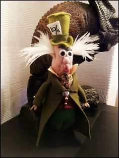 Alice in Wonderland Mad Hatter Felt doll by TheUselessCupboard, £15.00
