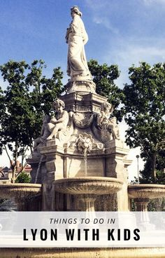 Lyon, France. A great family travel city break destination