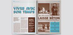Hiatus, la revue N°4 on Editorial Design Served