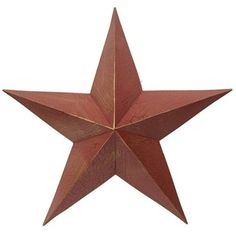 "This decorative wall accent is perfect for adding a unique touch to any room, office or other special area.    	Star is approximately 21""."