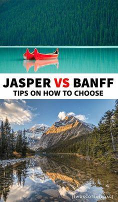 Jasper vs Banff: Which Rockies National Park Is Best? Top 10 National Parks, Banff National Park, Jasper National Park, Canadian Travel, Canadian Rockies, Banff Hiking, Alberta Travel, Banff Canada, Alberta Canada
