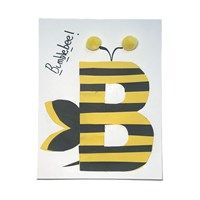 Bees For Kids, All Kids, Bee Crafts, Crafts For Kids, Alphabet Crafts, Alphabet Letters, Abc Activities, Cute Bee, Letter B
