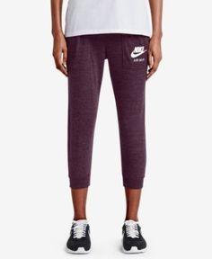 Nike Gym Vintage Capri Pants - Pink XS