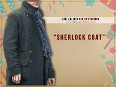 Sherlock Holmes Coat is made to enhance your personality with the touch of detective look. Have this Benedict Cumberbatch Holmes Coat in your wardrobe. Sherlock Holmes Costume, Sherlock Coat, Benedict Cumberbatch, Celebs, Costumes, Clothes, Celebrities, Outfits, Clothing