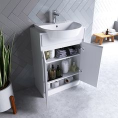 Ideal Standard Concept Air wood light brown vanity unit and recessed basin White Vanity Unit, Vanity Units, Semi Recessed Basin, Wall Hung Vanity, Downstairs Toilet, Wood Countertops, Floor Finishes, Mixer Taps, Brown Wood